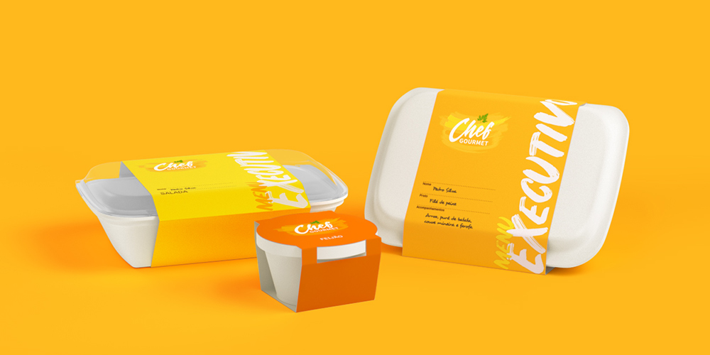 packshot-3d-chef-gourmet-yellow-background
